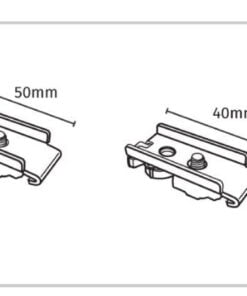 Fine Line Curtain Track Components