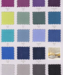 Large Selection of Colours for Flame retardant curtains