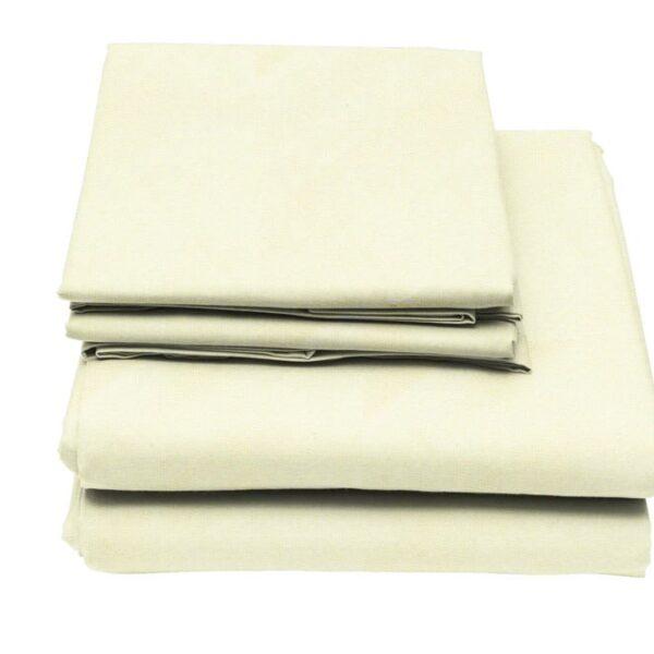 Cream-Flame-Retardant-Bedding-Sheets