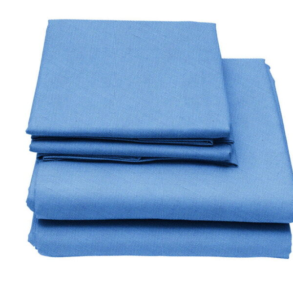 Pale Blue Flame Retardant Bedding