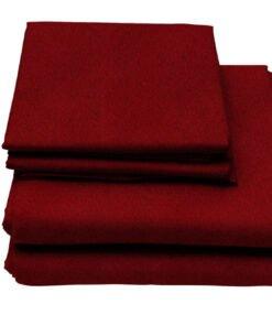 Plum-Red-Flame-Retardant-Bedding