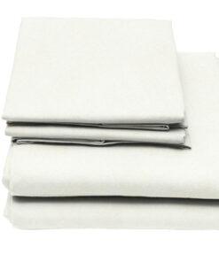 White Flame Retardant Bedding
